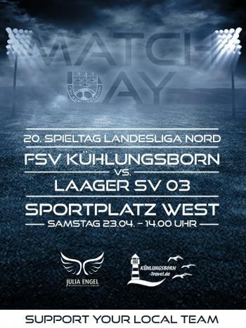 MATCHDAY 20. Spieltag Landesliga Nord
