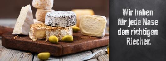 lecker Käse