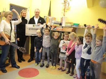 Spendenaktion 2015 für den Kindergarten: Uns Ostsekinner