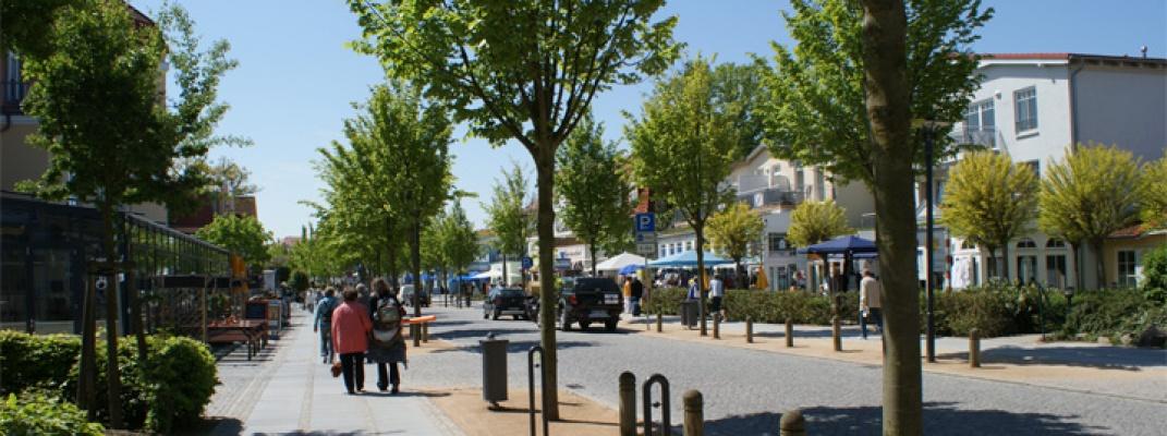 Cafés im Ostseebad