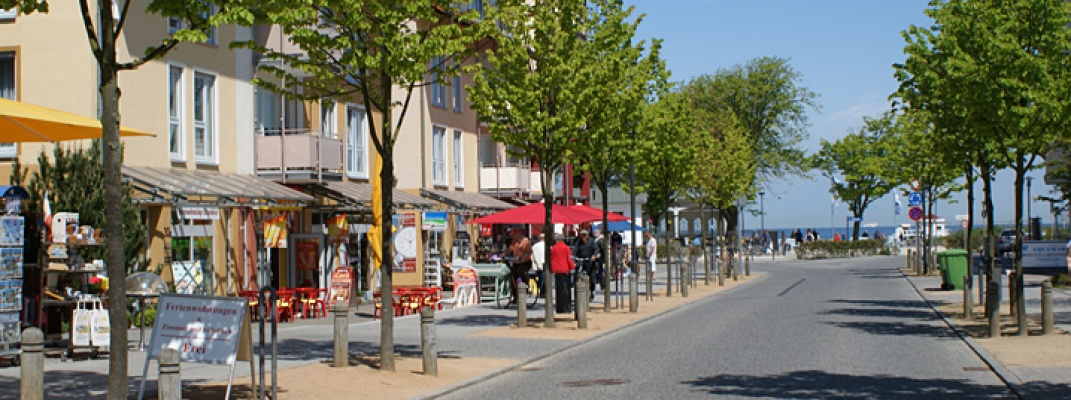 Ladengeschäfte im Ostseebad